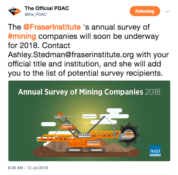 The Official PDAC (@the_PDAC)